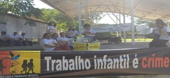 SEMASC realiza ações no Dia Mundial Contra o Trabalho Infantil