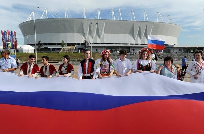 Russos vêm tentando valorizar cultura nacional durante a Copa (Crédito: Reuters)