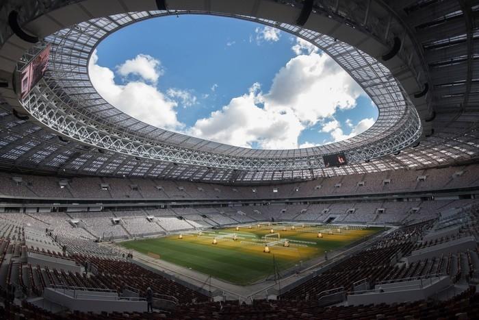 Arena Luzhniki, em Moscou, será o principal estádio da Copa do Mundo da Rússia  (Crédito: Iliya Pitalev/Sputnik )