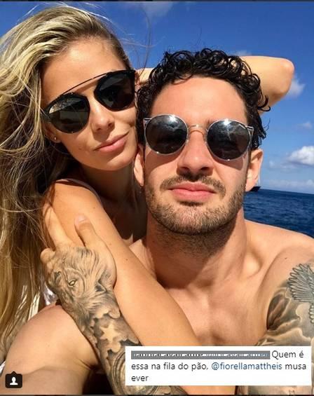 Danielle Knudson é namorada de Alexandre Pato  (Crédito:  Peter Soulis / Reprodução Instagram)
