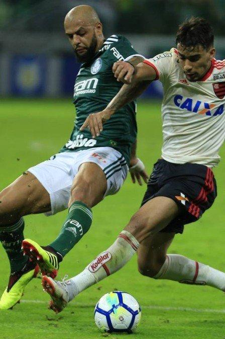 Felipe Melo e Vinicius Junir (Crédito: Agência O Globo)