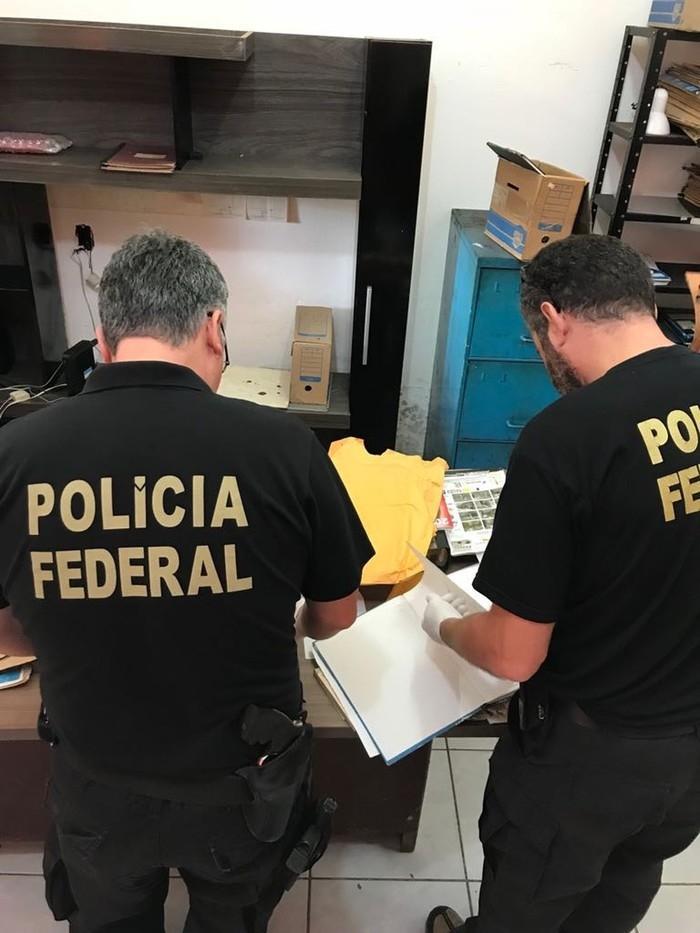Polícia Federal investiga em operações (Crédito: Divulgação/Polícia Federal)