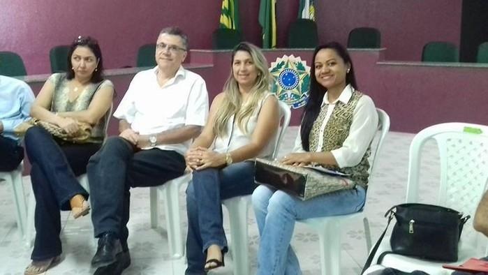 Dirigentes da SERCONPREV, gerente e assistente do DEMERVAL LOBÃO PREV