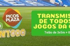Picos Plaza Shopping está transmitindo todos os jogos da Copa