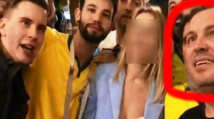 Piauiense Luciano Gil Mendes Coelho aparece no vídeo de assédio (Crédito: Reprodução )