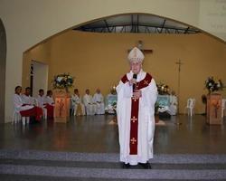 Jubileu de Ouro de Dom Alfredo Shaffler é Comemorado em Ipiranga