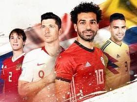 Sexto dia da Copa tem Lewandowski, Colômbia, Rússia e Salah