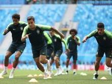 Brasil treina em São Petersburgo onde enfrentará a Costa Rica