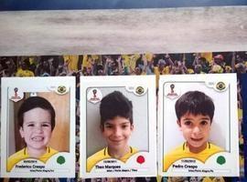 Copa do Mundo: Mães fazem álbum de figurinhas com rostos dos filhos