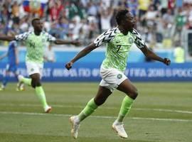Nigéria bate Islândia e decide vaga com a Argentina