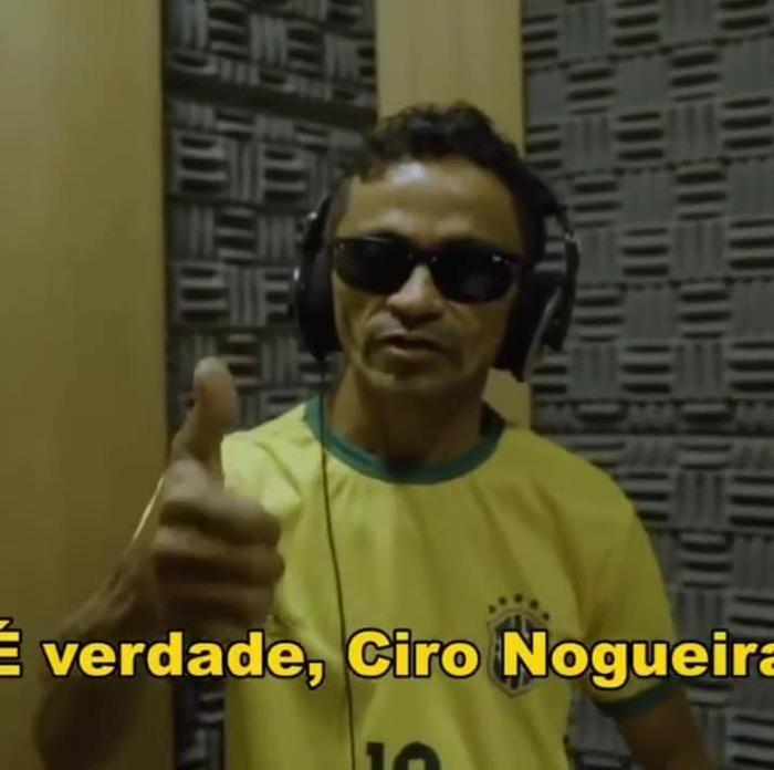 Popstar Gleyfy Brauly é sucesso absoluto no desafio do senador Ciro Nogueira
