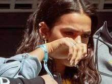 Bruna Marquezine se emociona ao ver Neymar chorando