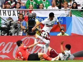 México vence Coreia do Sul por 2 a 1 e se aproxima da vaga