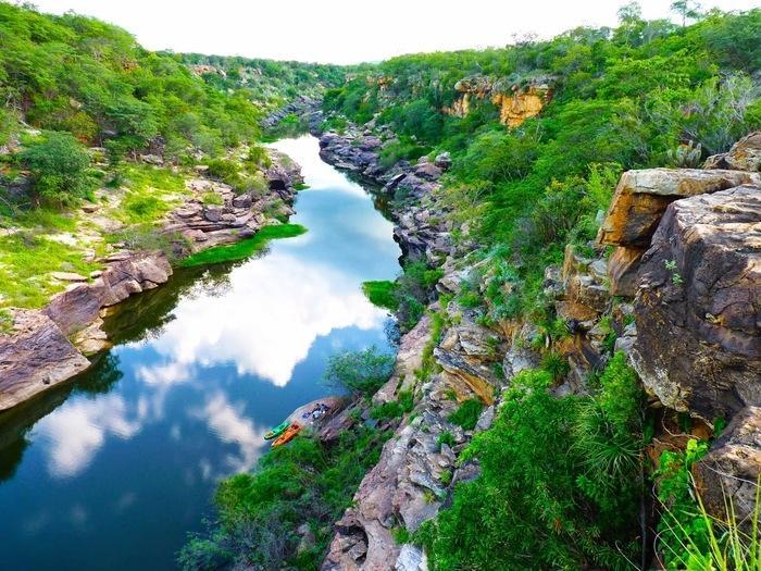 Canyon do rio Poti (Crédito: @alcidefilho)