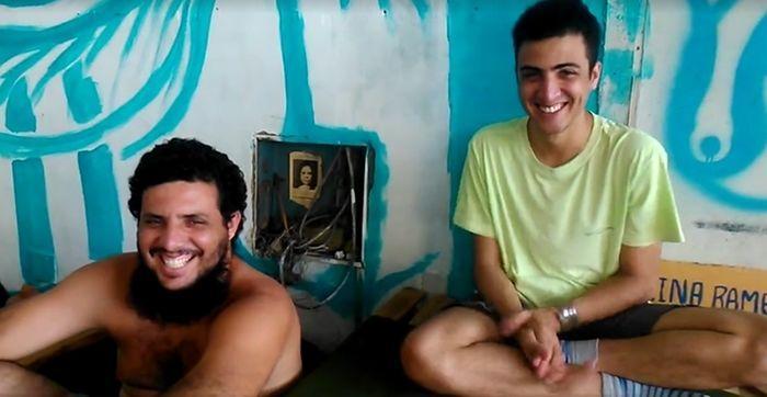 Bruno Queiroz e seu irmão Francisco das Chagas Júnior, morreram no acidente