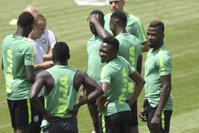 Nigéria precisa de uma vitória simples contra a Argentina (Crédito: AFP)