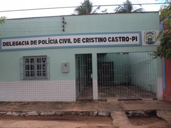 Delegacia de Polícia Civil de Cristino Castro (Crédito: Reprodução)