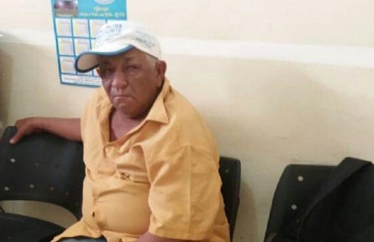 Agostinho Pereira de Sousa, de 65 anos (Crédito: Reprodução/Realidade em Foco)