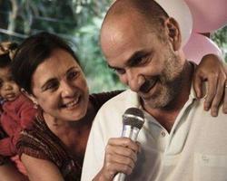 Separados, Adriana Esteves e Marco Ricca voltam a ser um casal