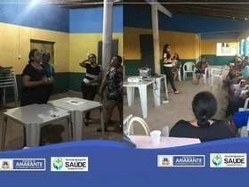 Prefeitura de Amarante realiza palestra sobre Saneamento no Mimbó