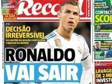 Cristiano Ronaldo vai sair do Real Madrid, diz jornal português