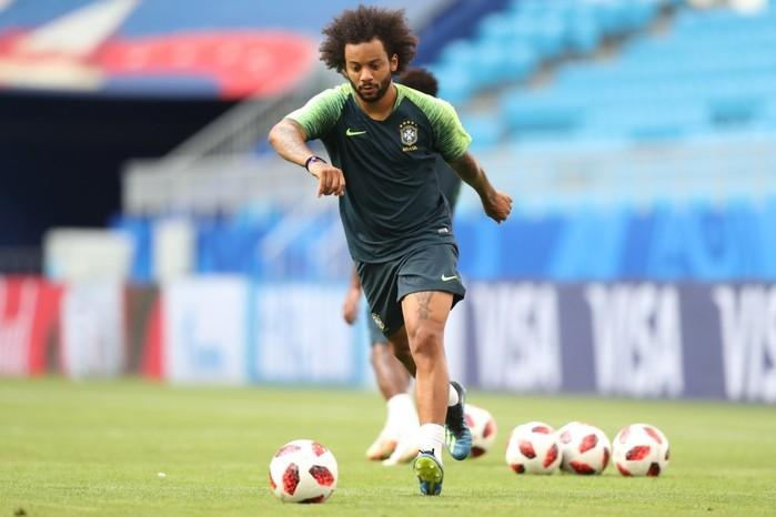 Treino da seleção brasileira nesse domingo (01º) (Crédito: Lucas Figueiredo/CBF)