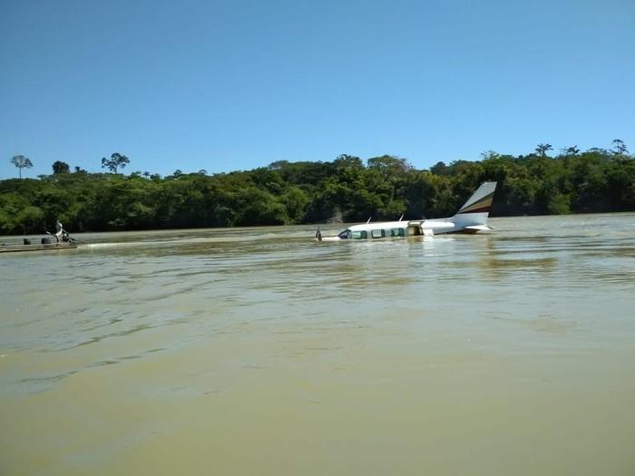 Piloto faz pouso forçado após tiroteio dentro de avião em Itaituba, no sudoeste do Pará.  (Crédito: Reprodução)