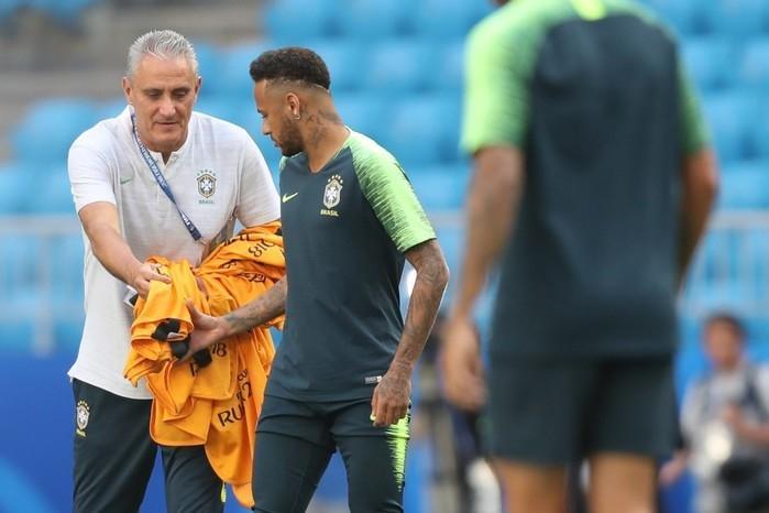 Tite confirma time com Filipe Luís. Thiago Silva é o capitão (Crédito: Lucas Figueiredo/CBF)