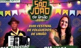 Mara Pavanelly no São João de União