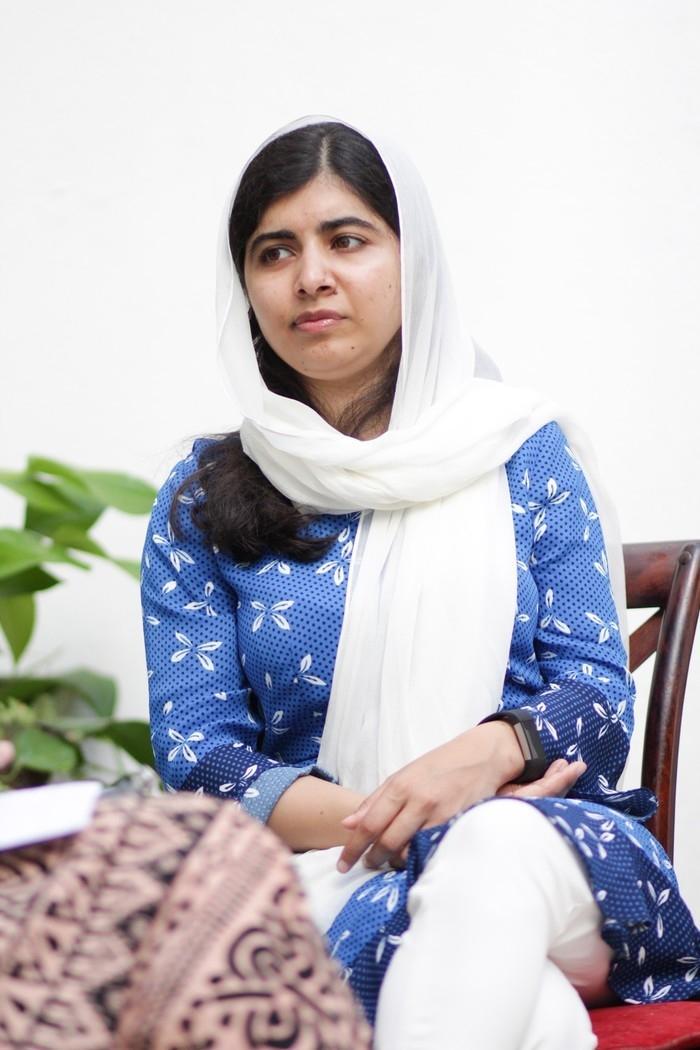 Malala Yousafzai, Nobel da Paz (Crédito: Egi Santana/G1)