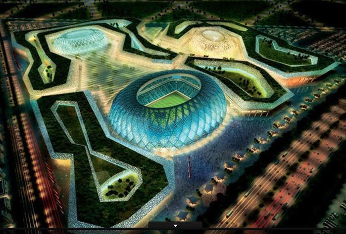 O Al-Wakrah terá espaço para 45.120 torcedores na Copa. Em seguida, sua capacidade cairia para 25.500 (Crédito: Divulgação)