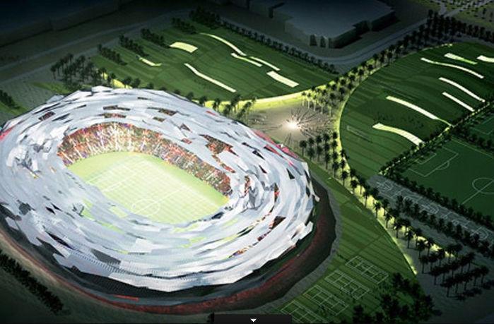 O Education City terá espaço para 45.350 pessoas (Crédito: Divulgação)