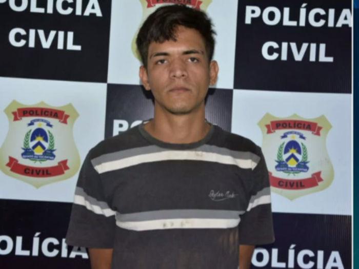 Suspeito de chantagear mulher para receber fotos íntimas é preso pela Polícia Civil  (Crédito: Reprodução)