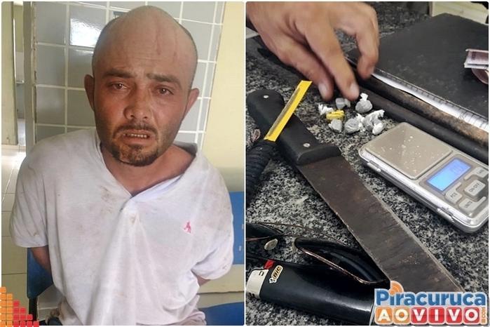 """Francisco Anderson da Silva, conhecido como """"Pitbull"""". (Crédito: Reprodução/Piracuruca Ao Vivo)"""