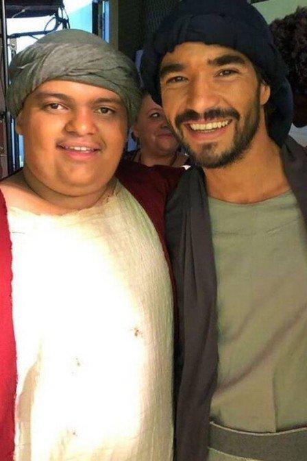 Caio Blat e o filho, Antônio. (Crédito: Reprodução/Instagram)