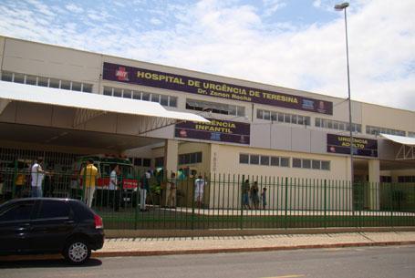 Hospital de Urgência de Teresina (HUT) (Crédito: Reprodução)