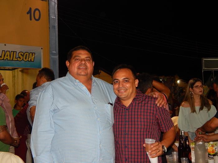 Os empresários Pedro Mariano e Joãozinho da Pensão 2 irmãos