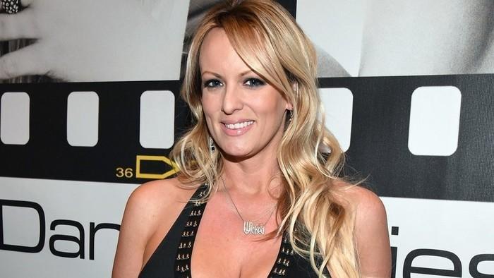 A atriz pornô Stormy Daniels  (Crédito: Getty Images)