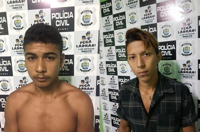 Jovens foram presos acusados de recrutar menores (Crédito: Reprodução)