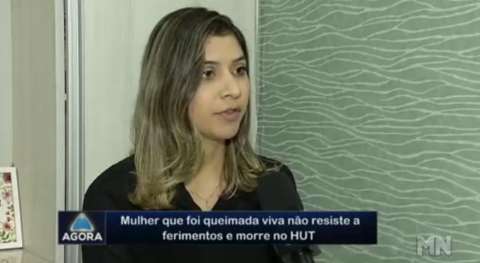Psicóloga Jessica Feitosa (Crédito: Rede Meio Norte )
