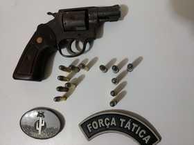 FT de Paulistana prende homem com arma de fogo