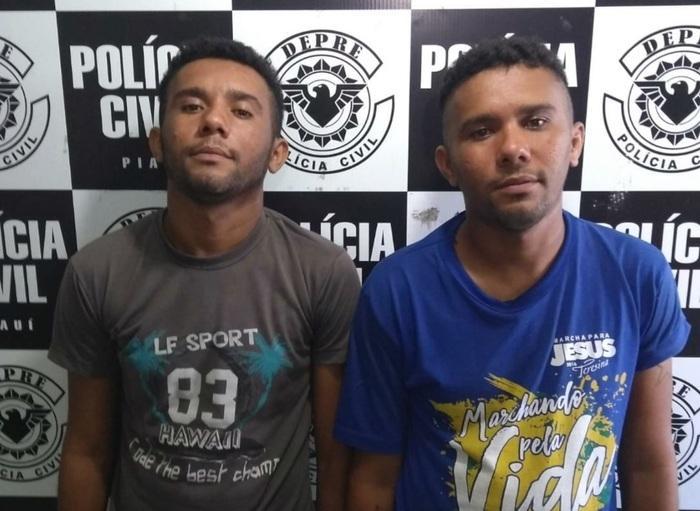 Gêmeos foram presos em flagrante (Crédito: Reprodução/TVMN)