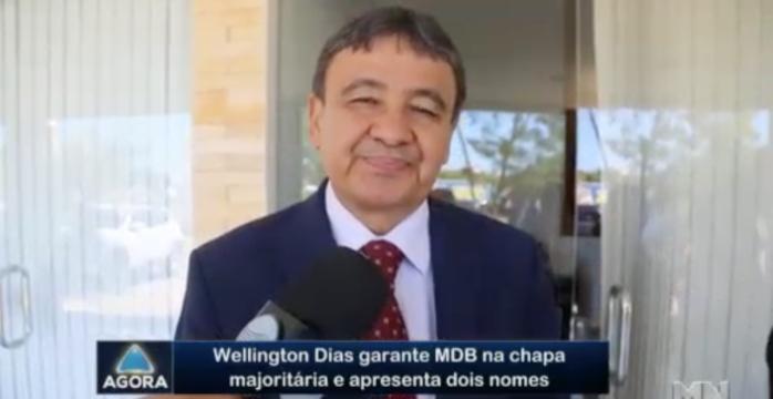 Wellington Dias (Crédito: Rede Meio Norte)