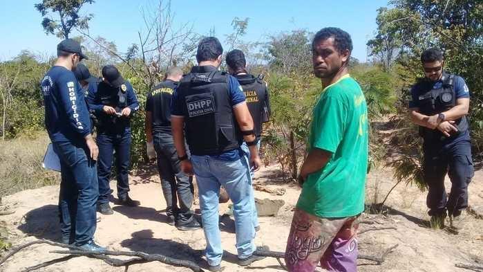 Corpo é encontrado em  avançado estado de decomposição na zona Sul de Teresina (Crédito: Mirian Santos)