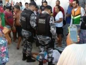Homem finge desmaio para escapar de linchamento no Piauí