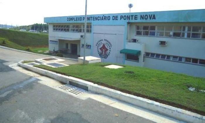 Complexo Penitenciário de Ponte Nova, local do acidente envolvendo o detento (Crédito: Reprodução)