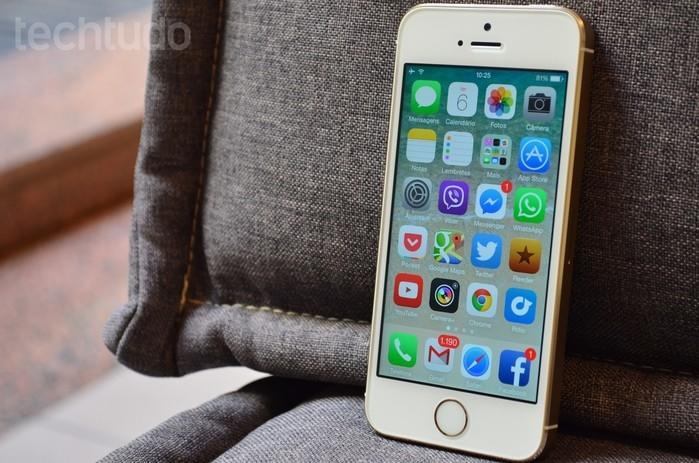 iPhone 5s (Crédito: Portal G1/Techtudo)