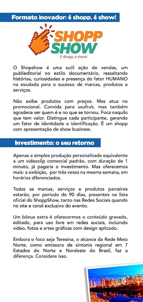 Inovação no Marketing: ShoppShow (Crédito: INpulso)