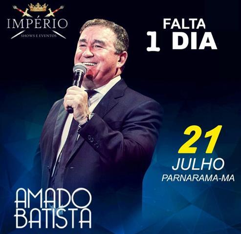Amado Batista é atração na inauguração Casa de Shows em Parnarama
