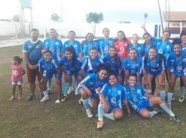 Futebol feminino de Monsenhor Gil na final de campeonato
